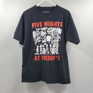 Five Nights At Freddy's Horror Video Game Tee